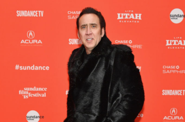Actor Nicolas Cage attends the 'Mandy' Premiere during the 2018 Sundance Film Festival at Park City Library on January 19, 2018 in Park City, Utah