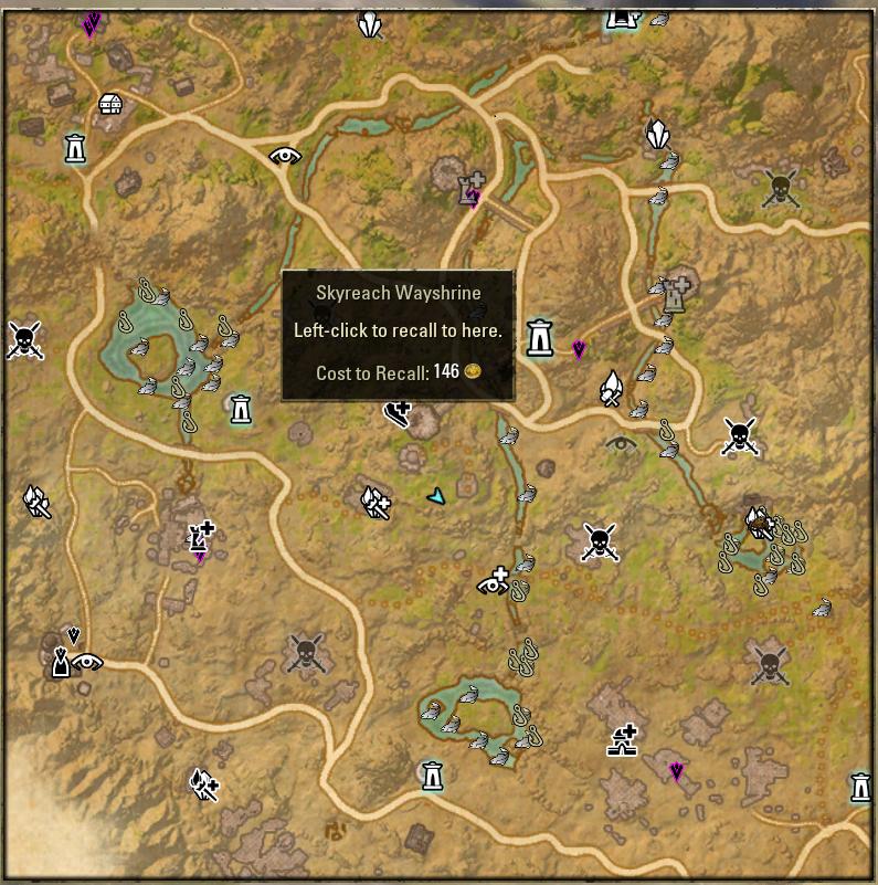 Elder Scrolls Online Survey Maps | SneakyBo