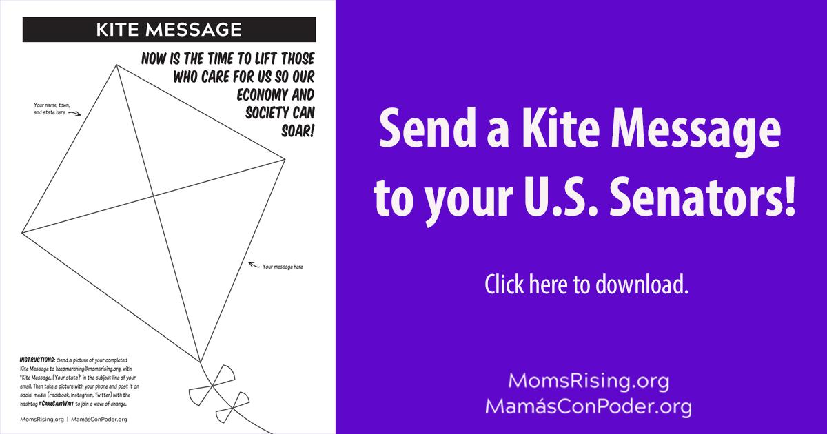 Send a kite message