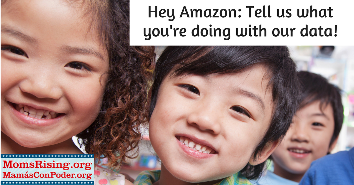 Momsrising Org Jeff Bezos And Amazon What Are You Doing With Our