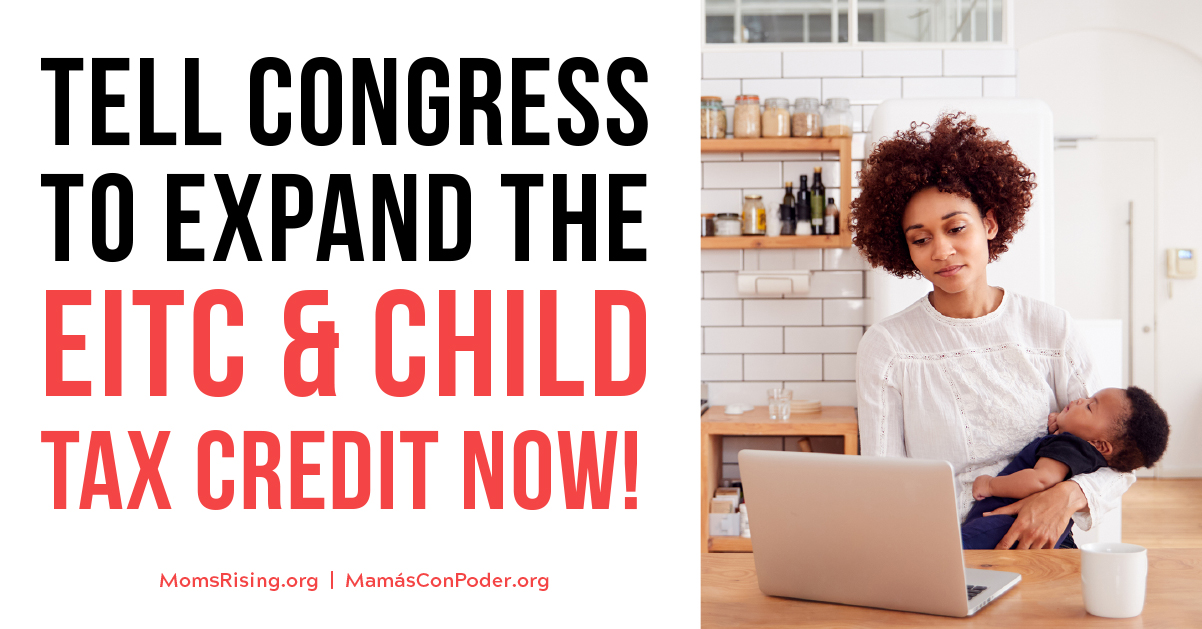 SIGN our letter to strengthen the EITC and Child Tax Credit!