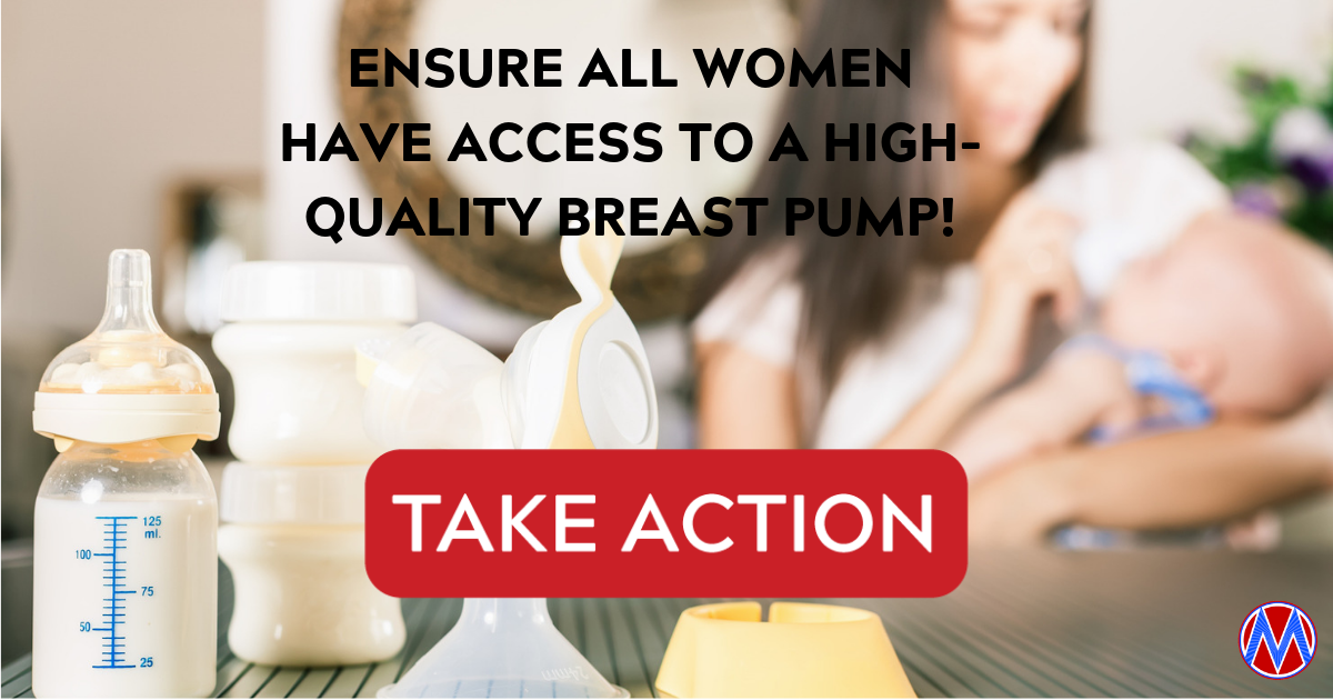 All Women Deserve Access to a High-Quality Breast Pump!