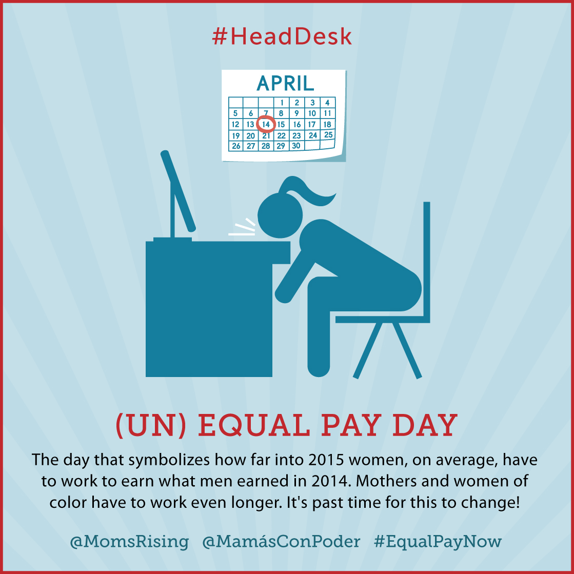 Unequal Pay Day