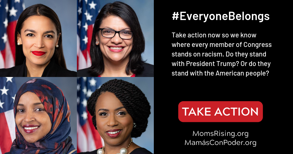 Every member of Congress must stand up against Trump's racism