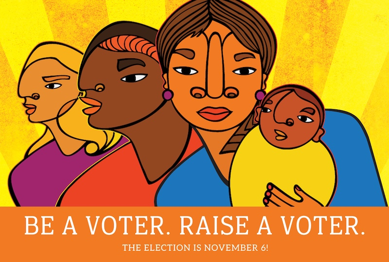 Be a Voter. Raise a Voter.