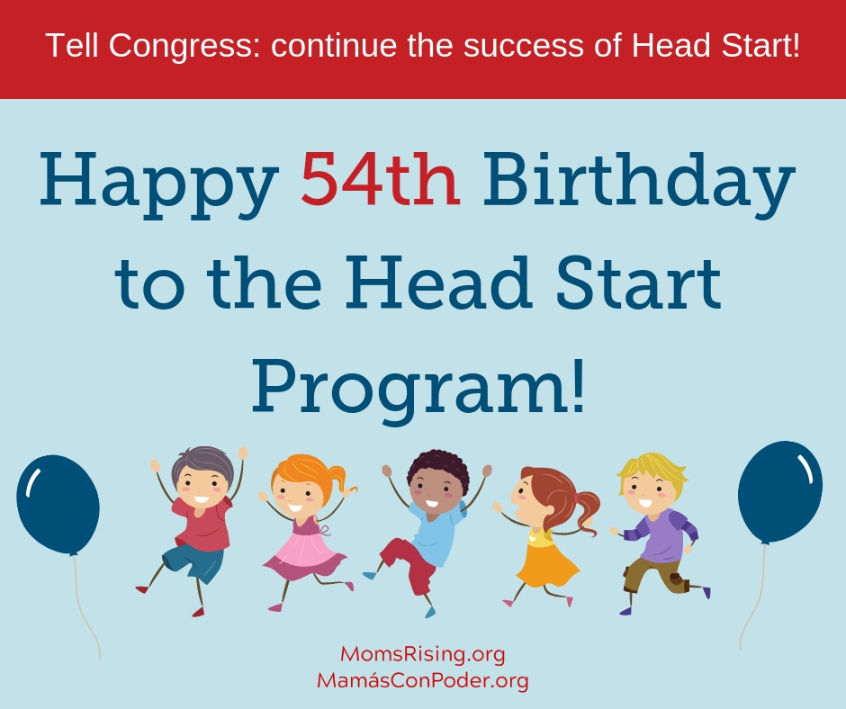 Happy Birthday Head Start