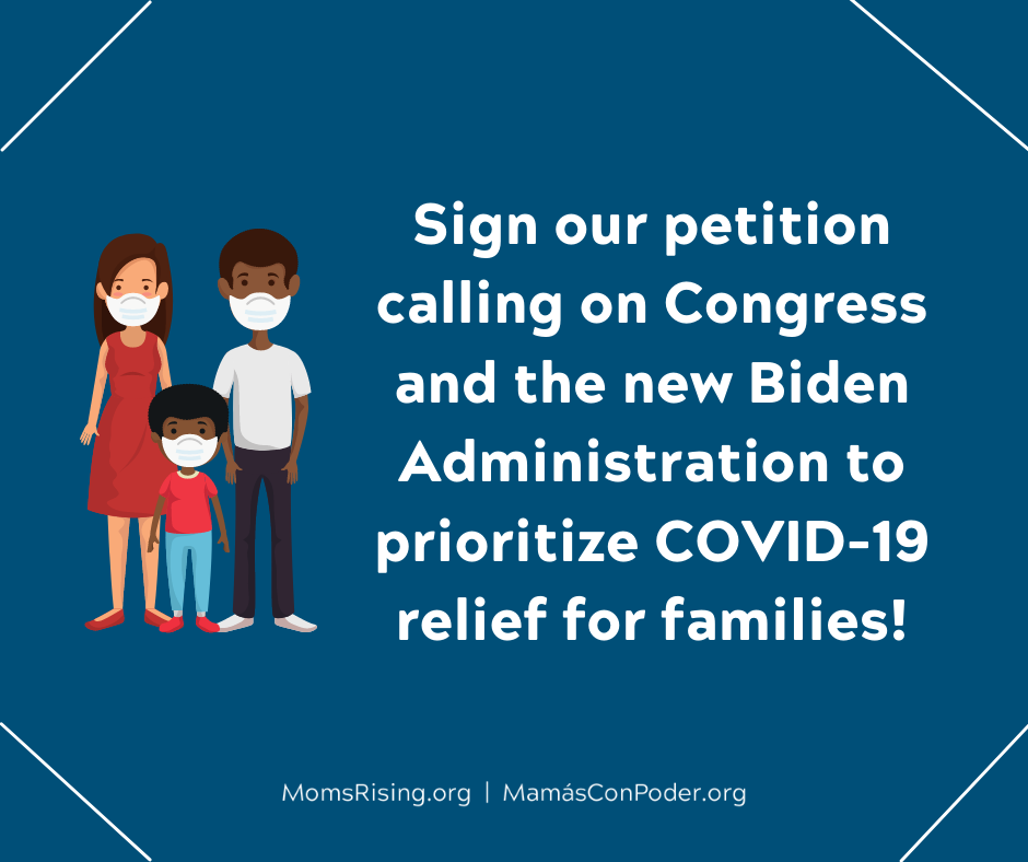 SIGN NOW to tell the new Congress we need COVID relief!