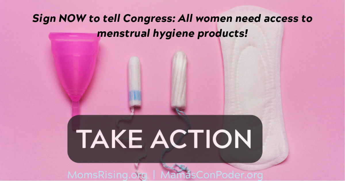 U.S. Congress: Pass the Menstrual Equity for All Act!