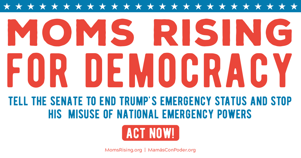CALL CONGRESS NOW: There is no national emergency!!