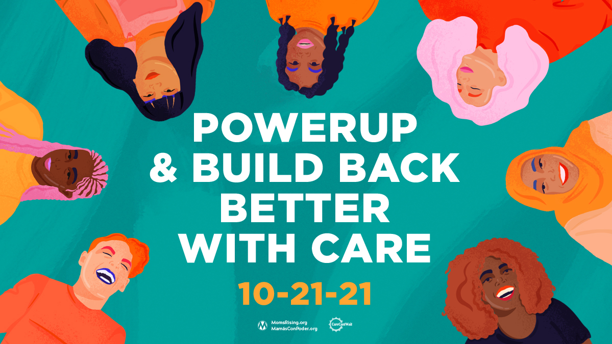 PowerUp & Build Back Better with Care Rally Livesstream