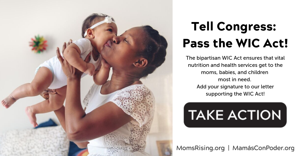 Tell Congress: Pass the WIC Act!