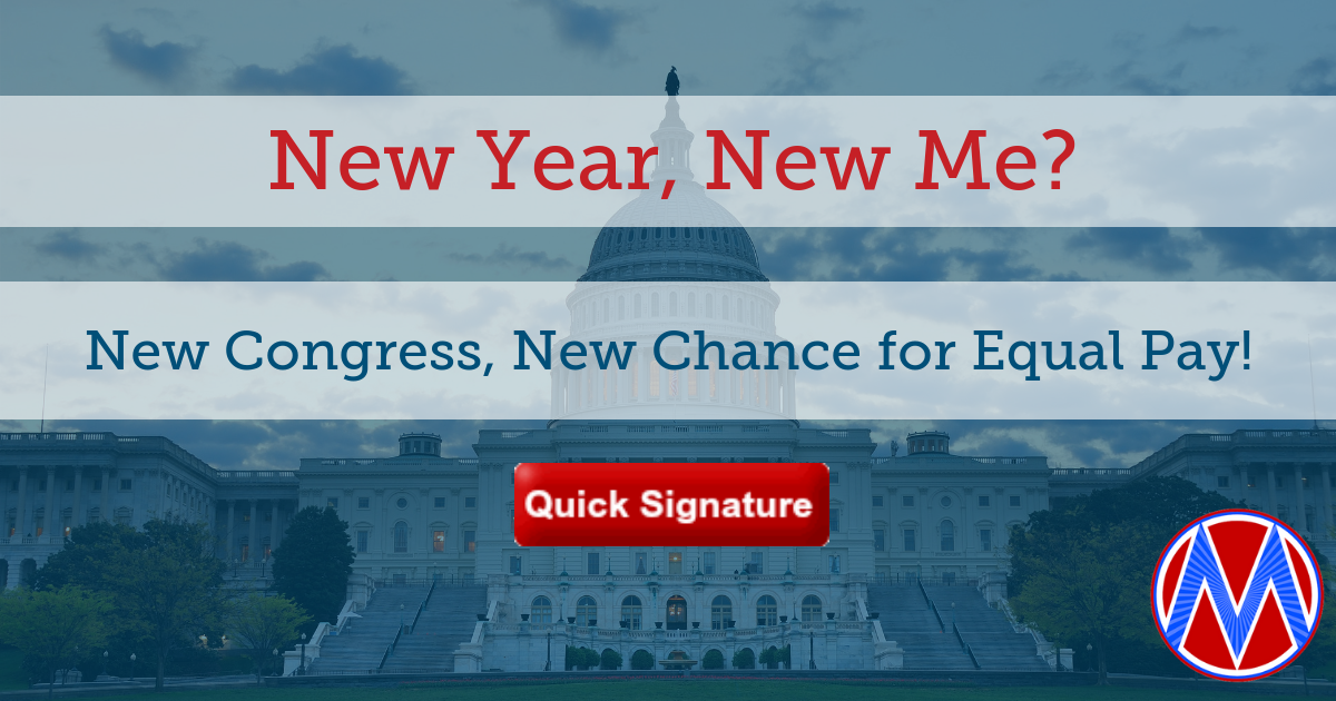 Tell the new Congress: Co-Sponsor the Paycheck Fairness Act!