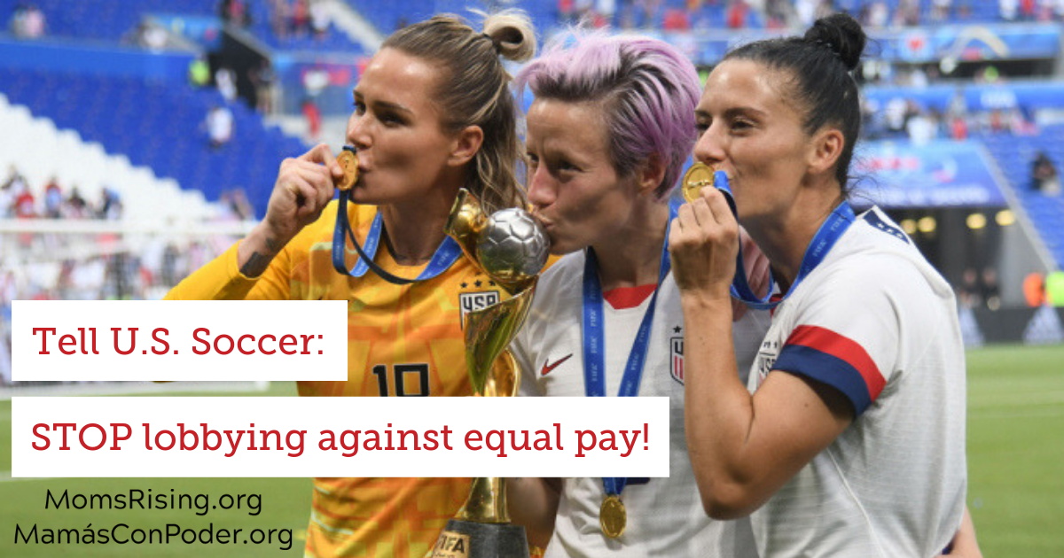 EQUAL PAY for SUPERIOR PLAY!