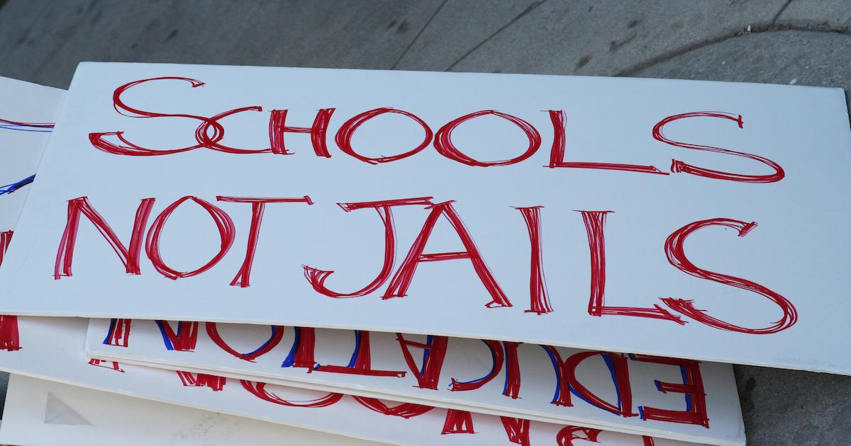 schools not prisons