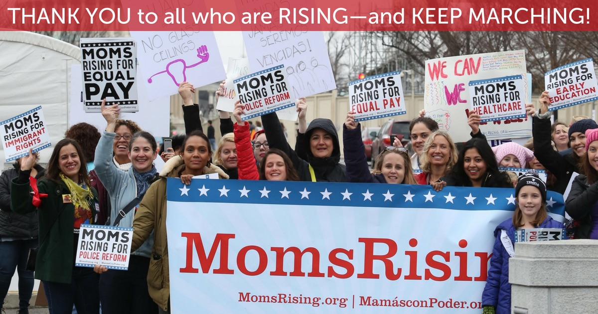 Thank You to all who are RISING - and KEEP MARCHING