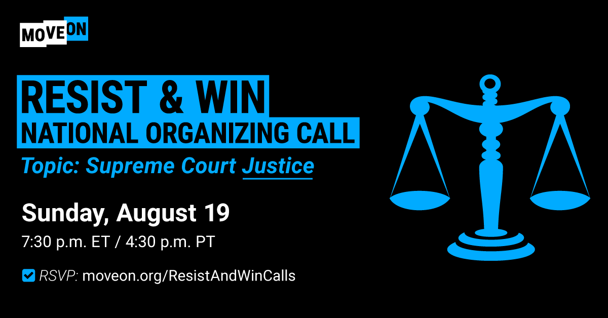 Resist & Win National Organizing Call