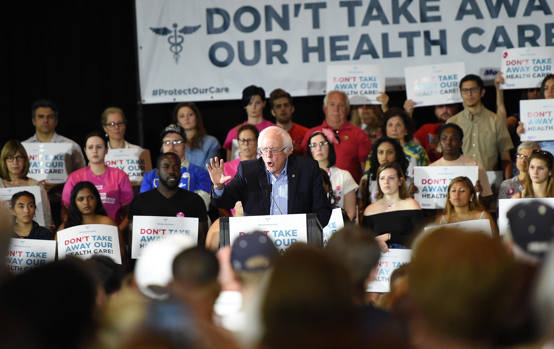 Bernie Sanders rally to stop Trumpcare