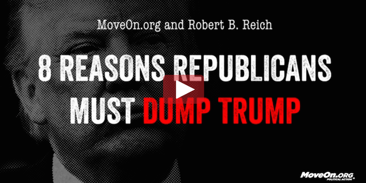 8ReasonsToDumpTrump