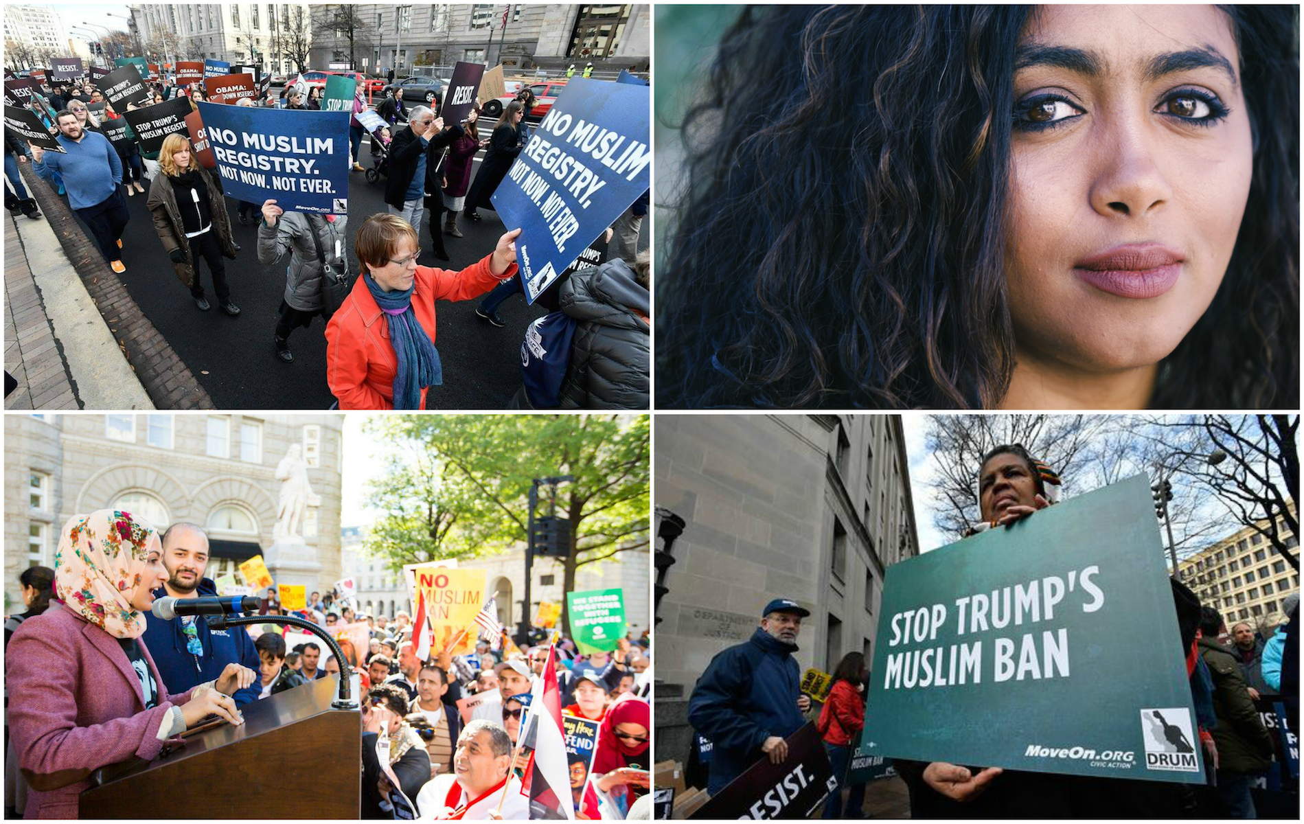 Whether it's telling our story to millions of viewers or thousands of us marching through Washington, D.C., we're resisting Trump's Muslim Ban.