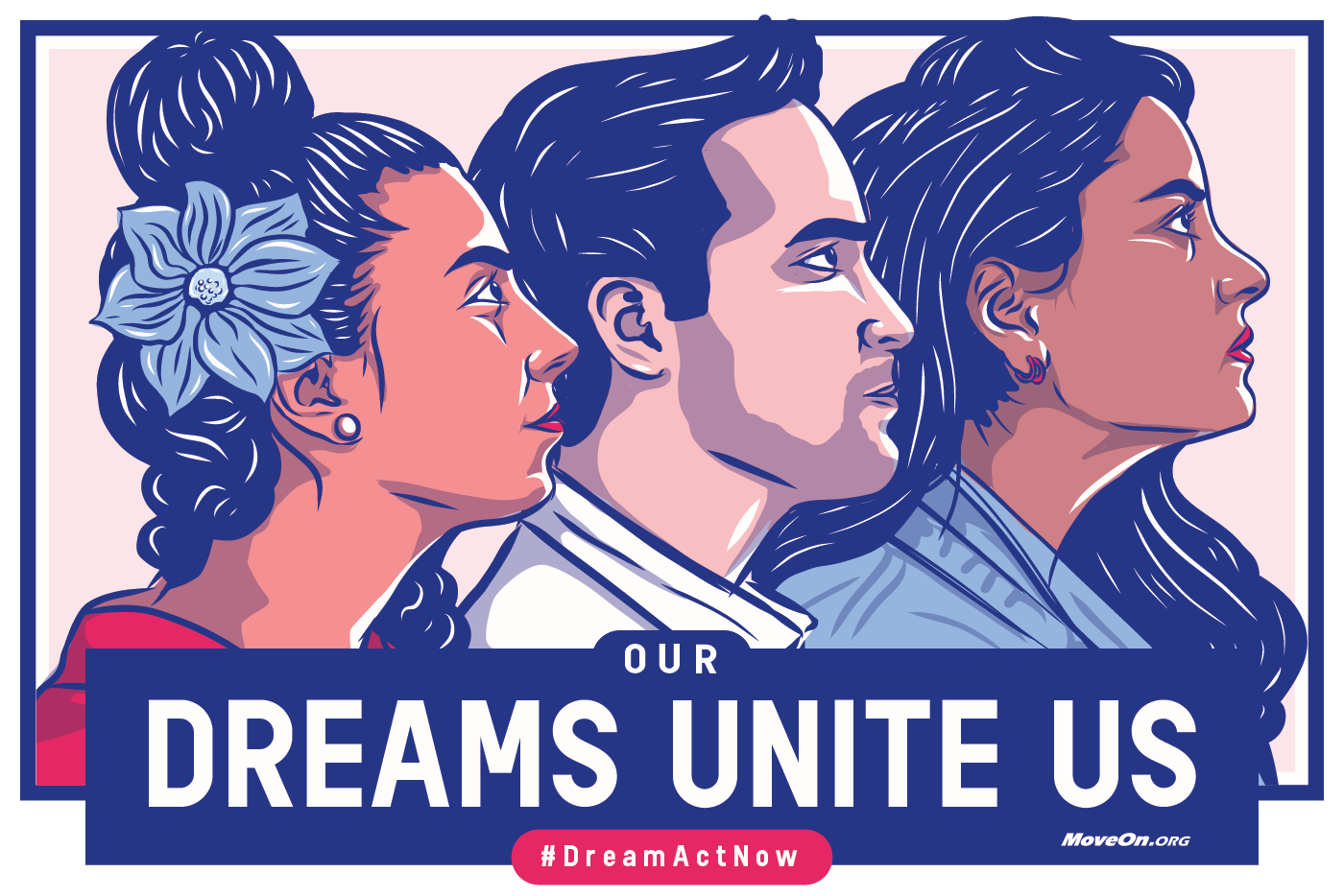 Show your support for the Dream Act. Order a sticker now.