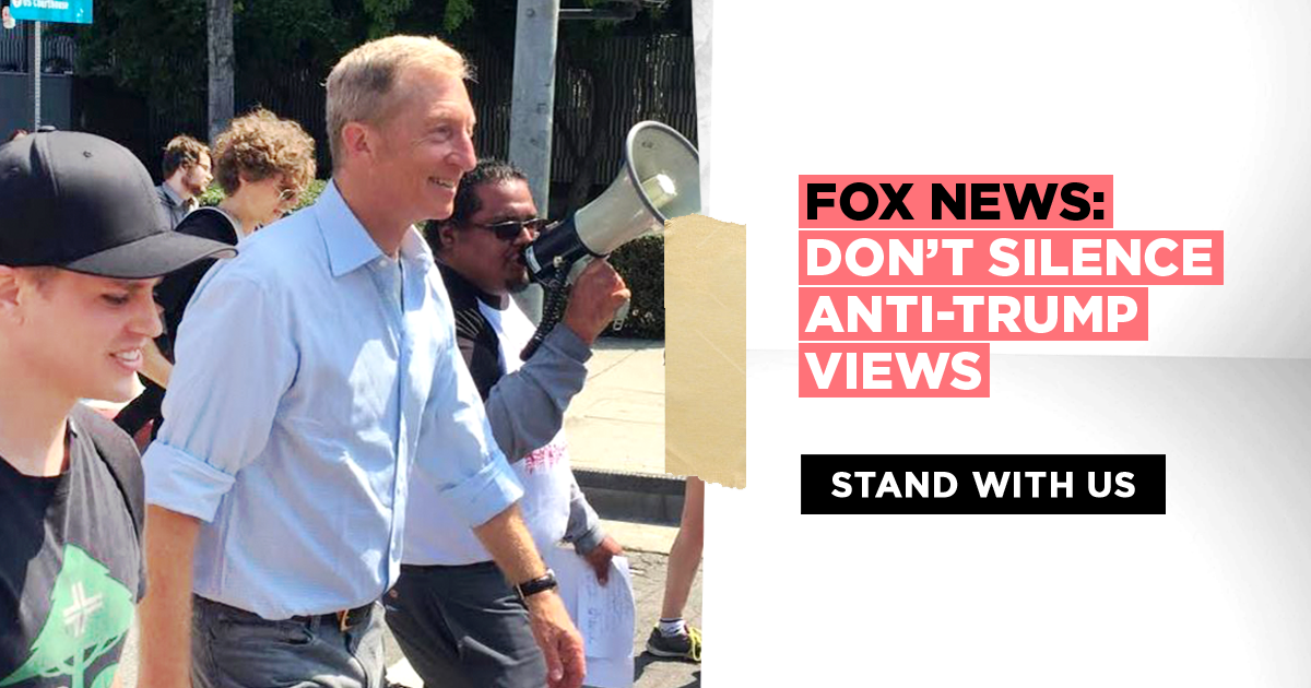 MoveOn Petitions - Demand Fox News stop censoring anti-Trump