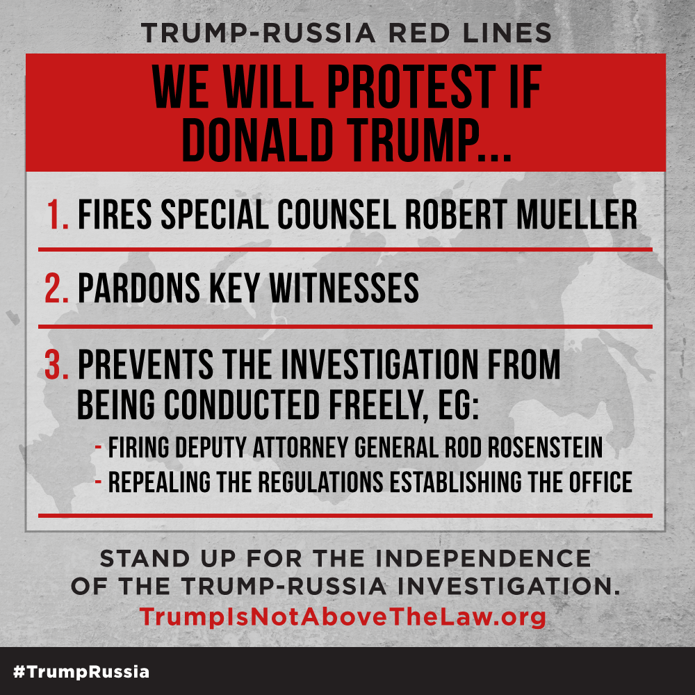 Trump Is Not Above The Law Home: MoveOn.org