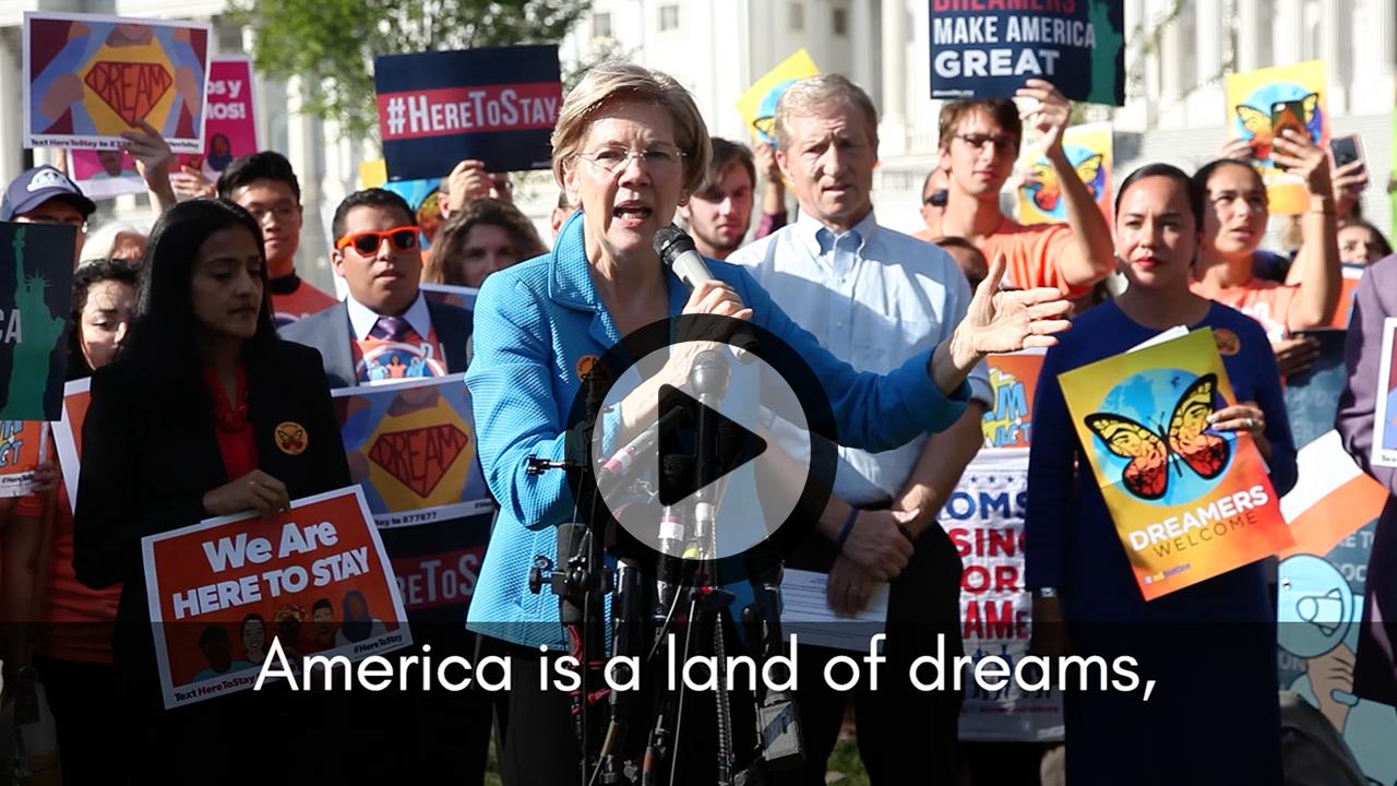 Elizabeth Warren and the Dream Act