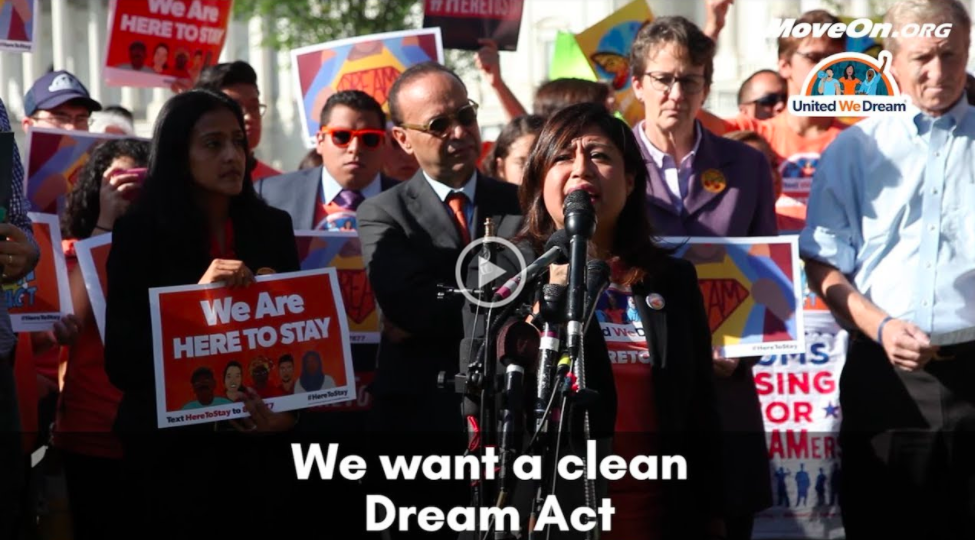 Cristina Jiminez speaks about the Dream Act