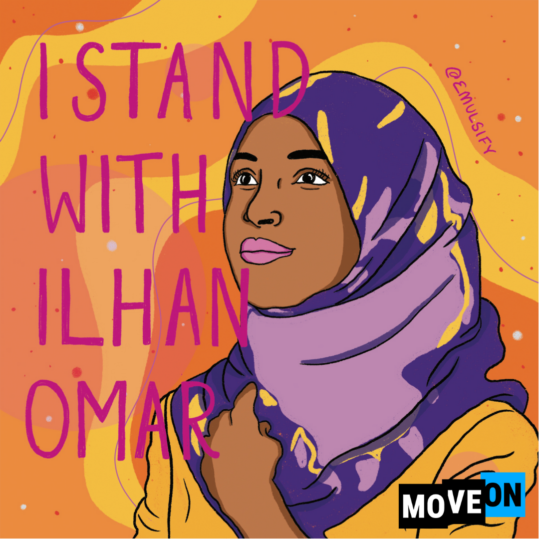 MoveOn's First Endorsement of 2020 Cycle: Ilhan Omar for Congress