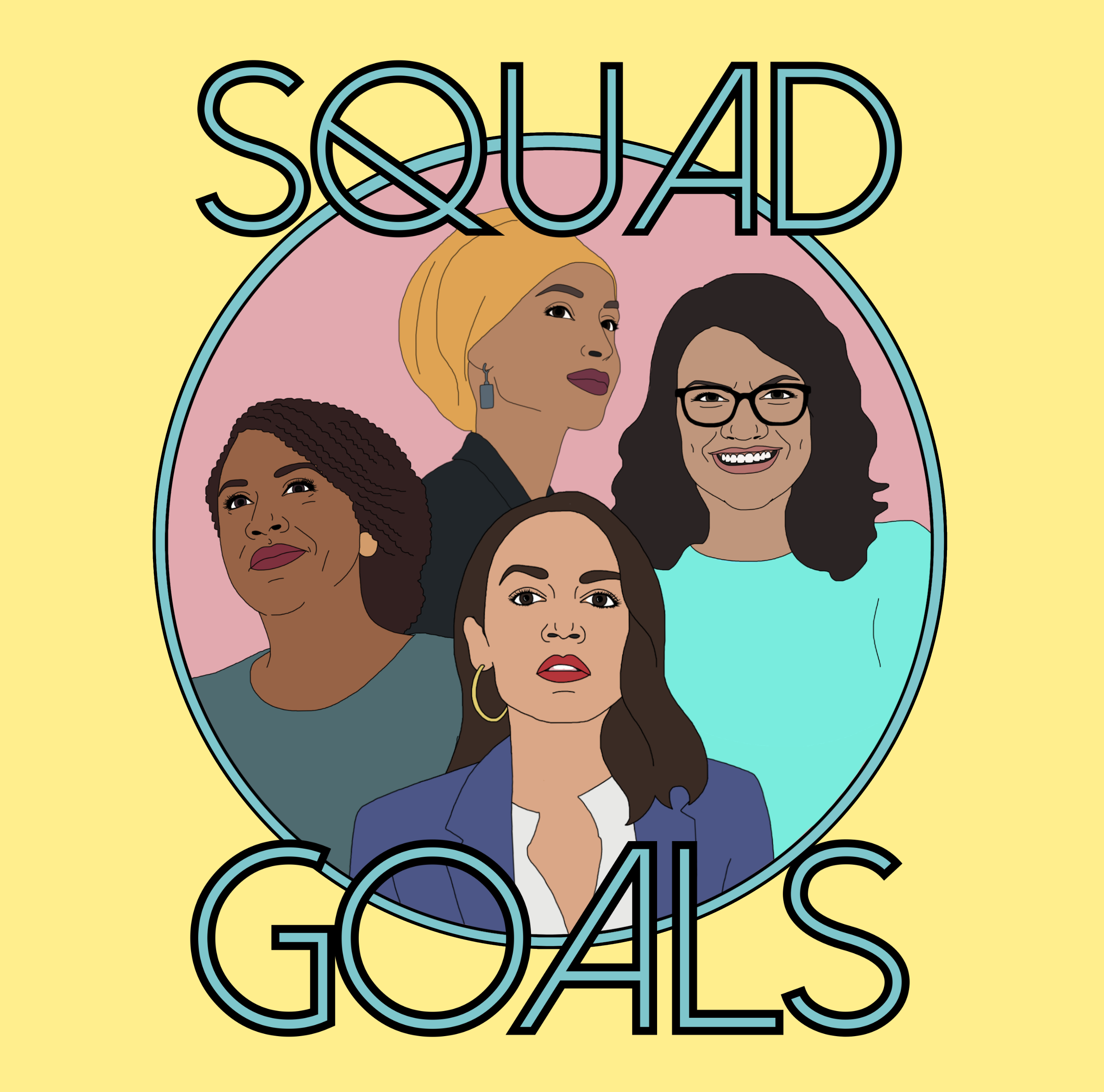 FREE Squad Goals Sticker...