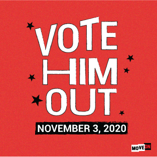 FREE Vote Him Out 2020 Sticker...