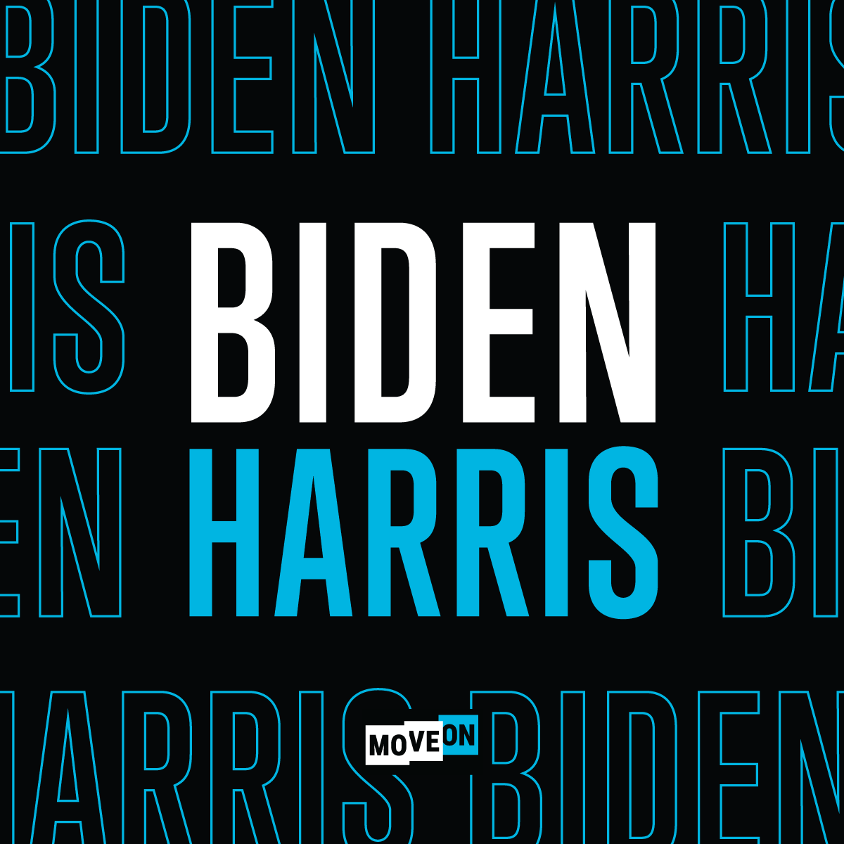 """Get your free """"Biden-Harris"""" sticker!"""