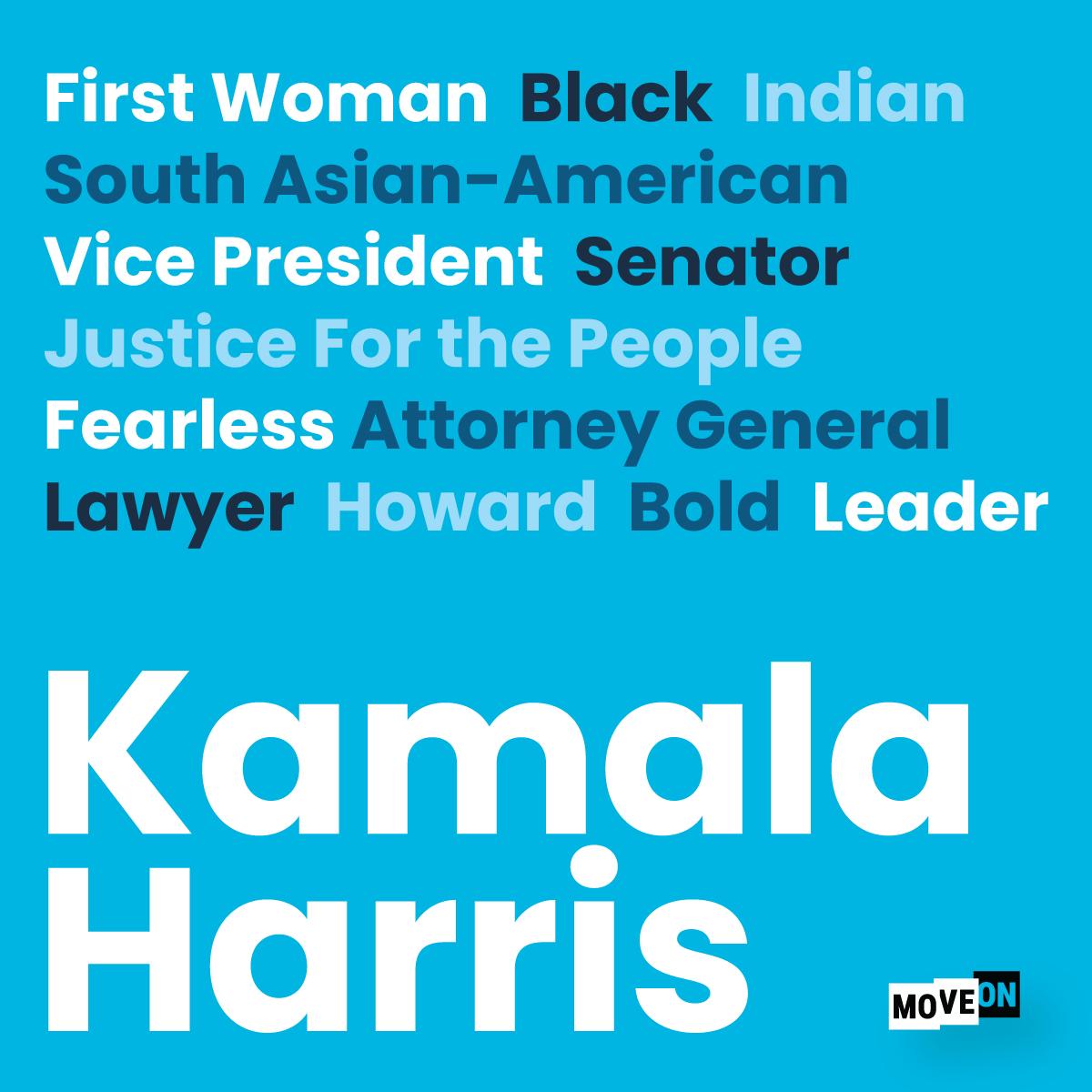 Get your free Kamala Harris sticker!