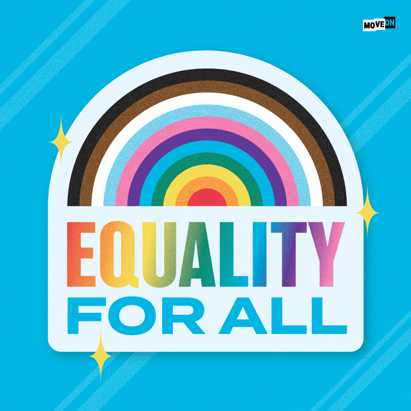 """Get your free """"Equality for All"""" sticker!"""