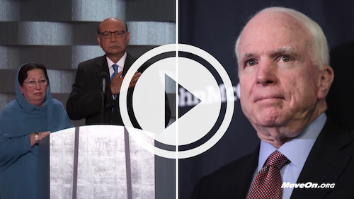 VIDEO: Khizr Khan to John McCain
