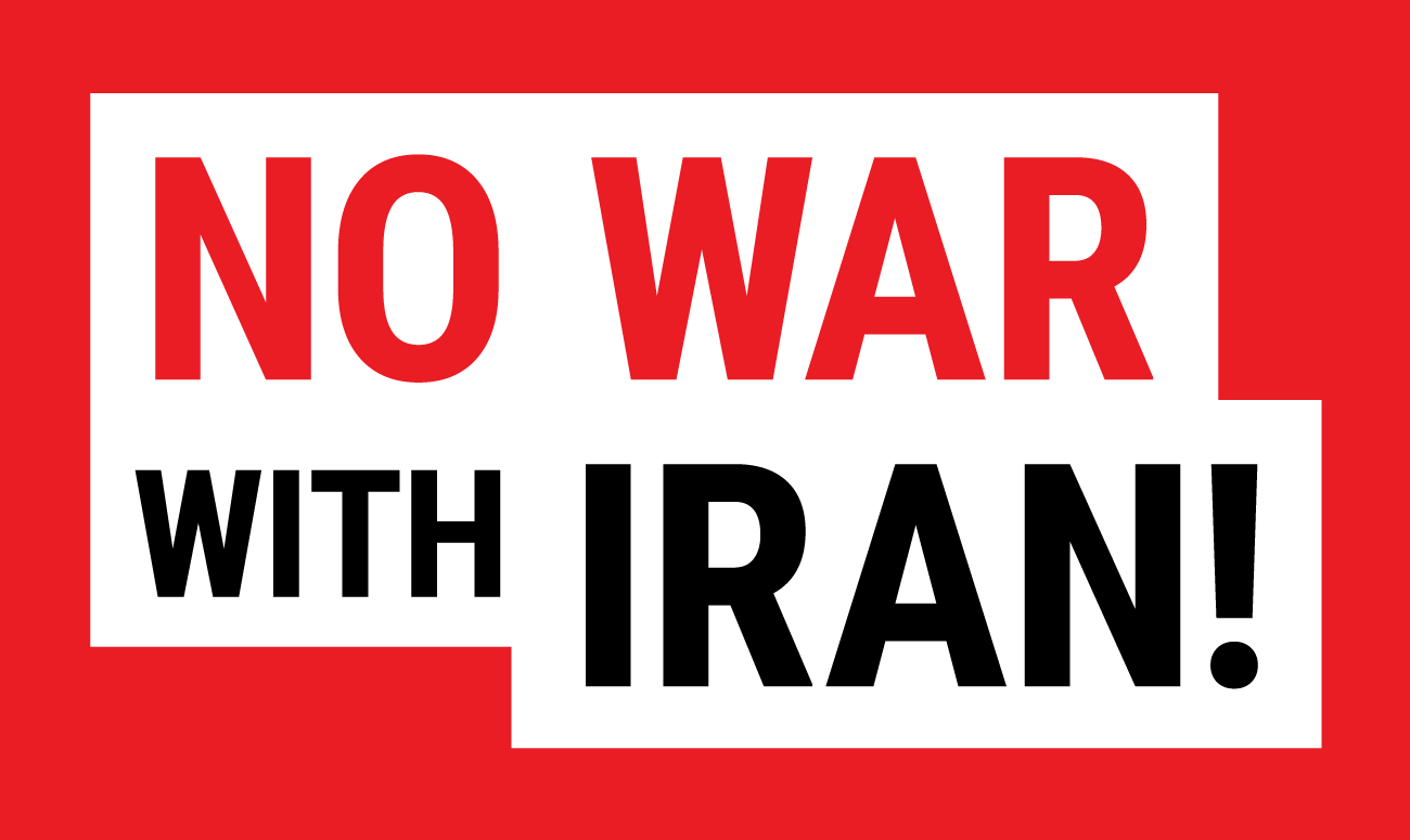 No War With Iran image