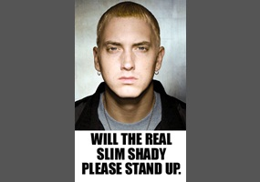 will the real slim shady please stand up debate org