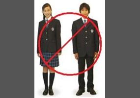 should high school students wear uniforms essay