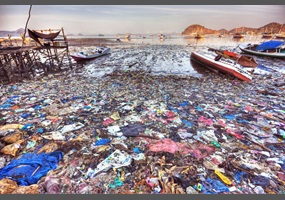 Large amounts of pollution in the ocean: Should the world ...