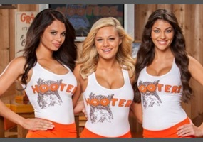 Hot girls in hooters uniforms messages