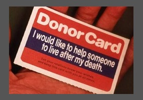 organ donation after death should be encouraged speech