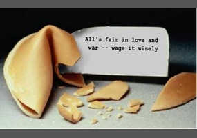 all is fair in love and war true or false