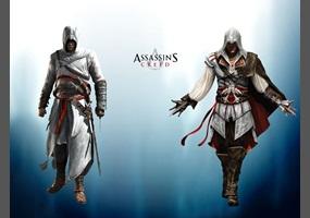 GEEK SLAM: Ezio Auditore Da Firenze VS. Altair Ibn La Ahad