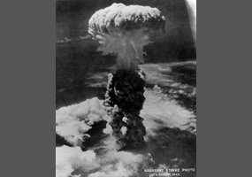 dropping of the atomic bomb justified