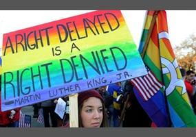 Gay right debate