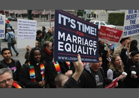 Legalization of gay marriages