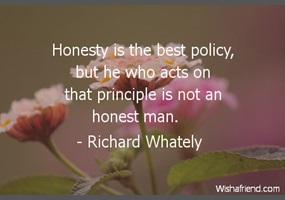 debate on honesty