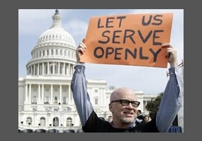 allows gay people to serve openly in