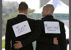 Gay marriage versus civil unions