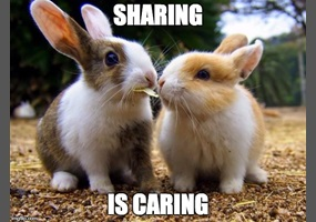 Image result for sharing is caring
